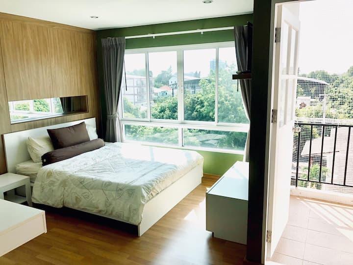 Clean, quiet and nearby the Bangsaen beach