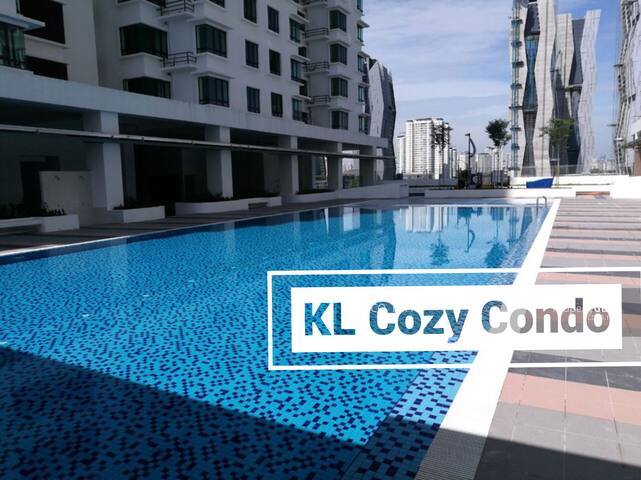 KL ModernCozy Condo (LRT walk 5min) - Kuala Lumpur - Condominium