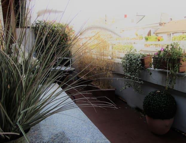 Attico di charme, terrazzo di 25mq