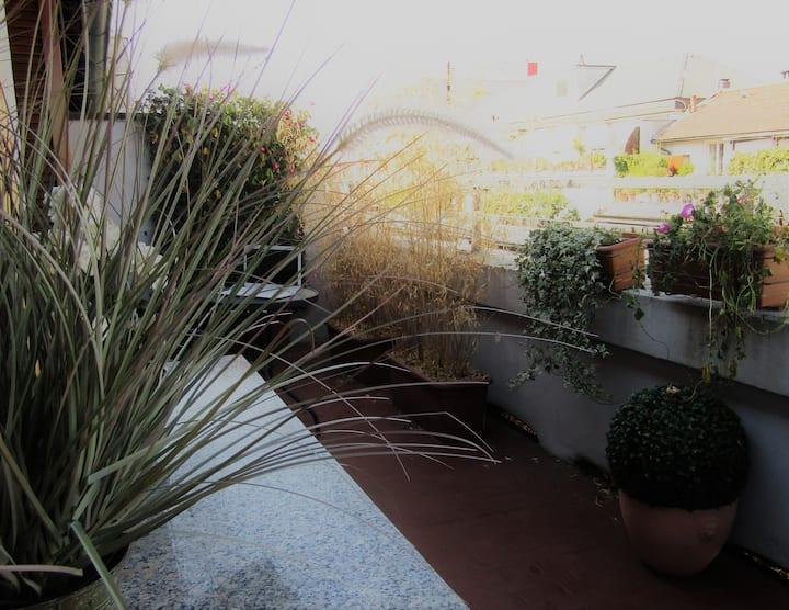 Attico di charme, 25 sqm terrace