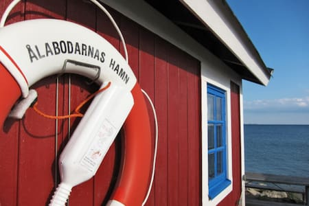 Liten stuga med ljuvlig havsutsikt - Landskrona NV