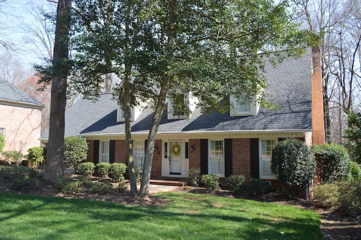 Quiet and private walk out basement near GSP - Greer