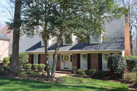 Quiet and private walk out basement near GSP - Greer - Hus