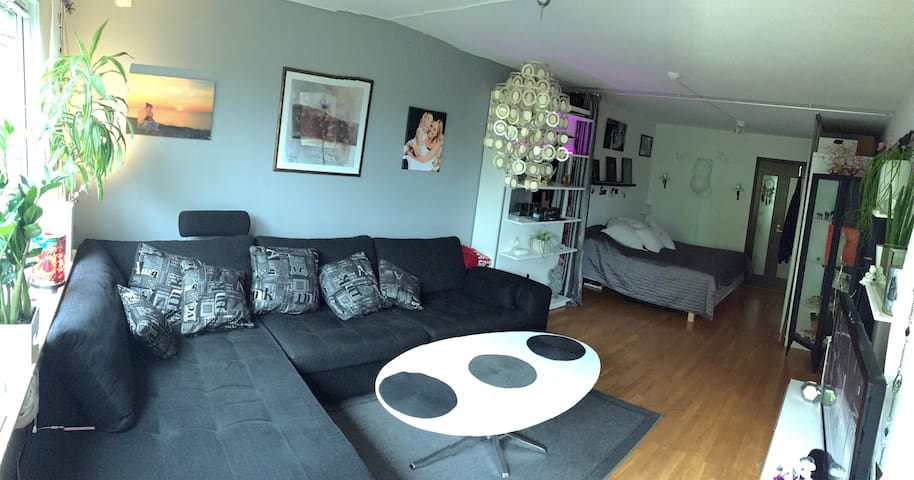 A nice big room in a apartment in city,Gothenburg
