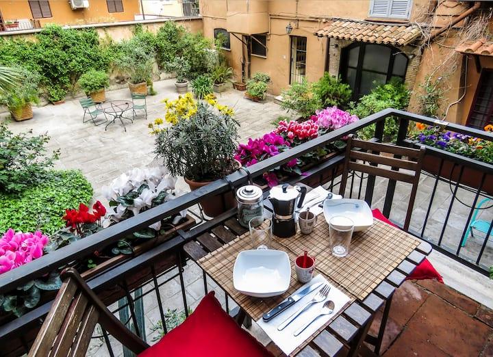 Casa del Moro - Romantic loft in Trastevere