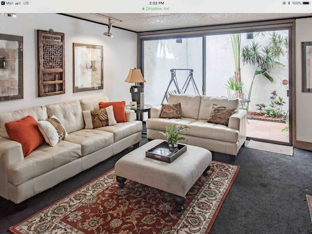 FANTASTIC MID CENTURY MODERN  CONDO W/2 FIREPLACES