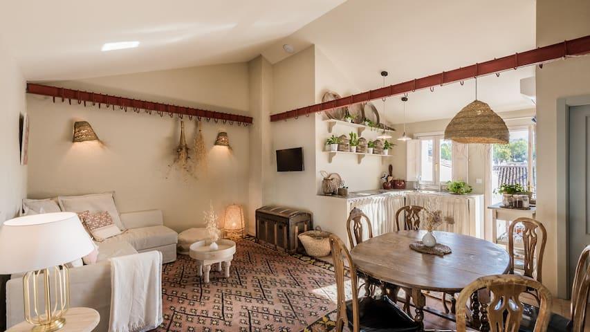 Historic Ronda loft  private terrace & shared pool