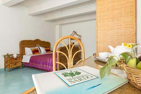 Masseria Sardo, corner of paradise - Vimini room