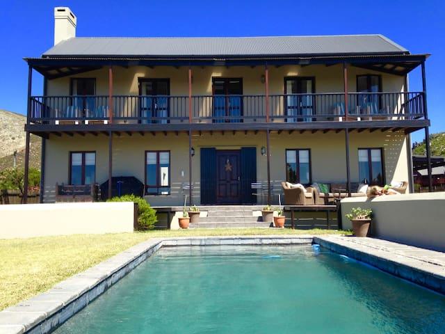 Luxury beach house Pringle Bay, Cape Town.