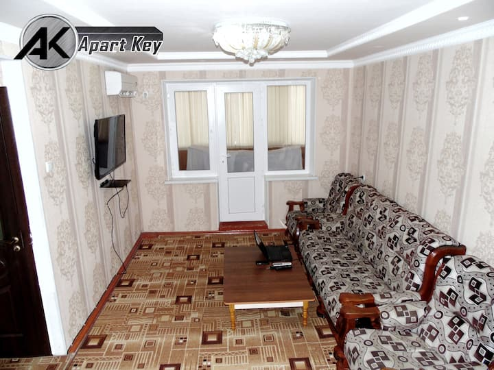 Apart Key/Квартира со всеми удобствами в 32 мкр
