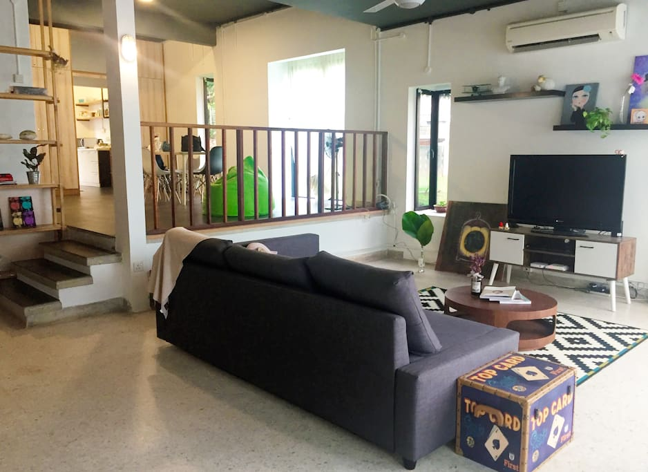 Shared living area (GROUND LEVEL)