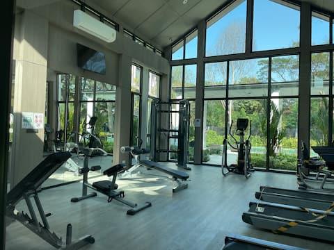 Park resort luxury condominium in Chiangmai