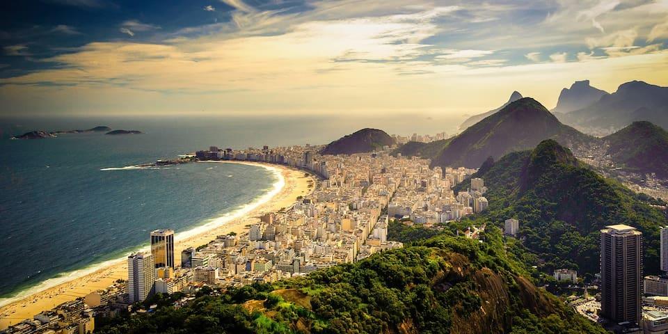 NEW HOSTEL 3 BLKS FROM BEACH BedI - Rio de Janeiro - Bed & Breakfast