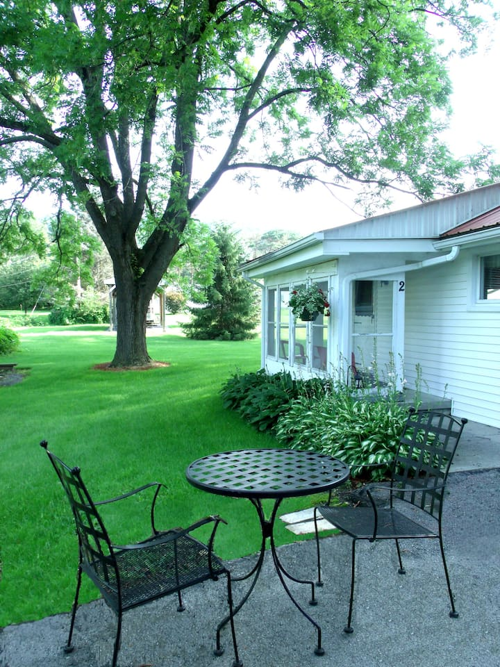 Side Porch Entrance to Cottage #2