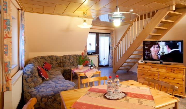 Liebevoll eingerichtete Ferienwohnung in Franken