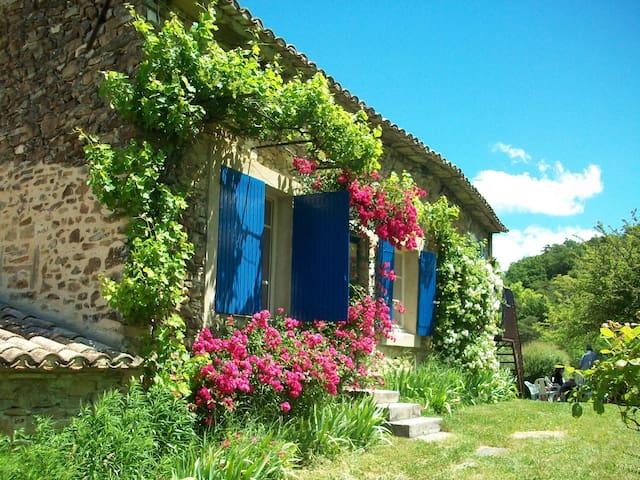 au coeur de la drôme - Francillon-sur-Roubion - House