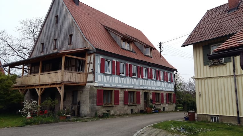 Wohnen in ländlicher Idylle - Schwäbisch Hall - Rumah