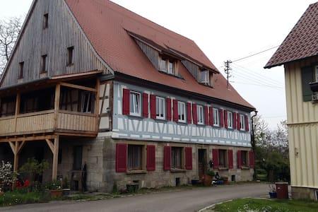 Wohnen in ländlicher Idylle - Schwäbisch Hall