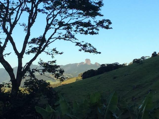 Chalé no alto da serra em São Bento do Sapucaí