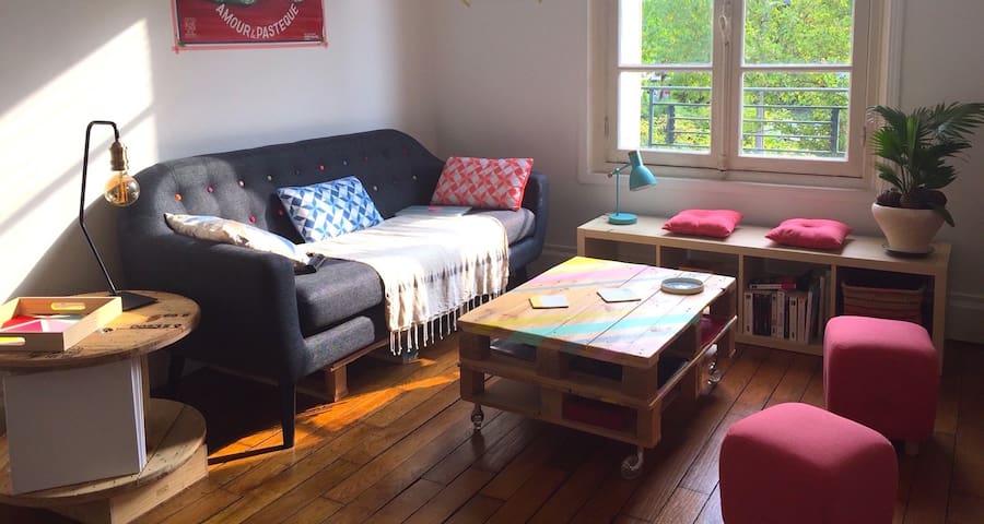 Appartement cocooning à Enghien-Deuil - Deuil-la-Barre - Apartment