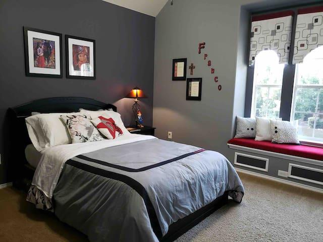 Cozy room for comfy nights.