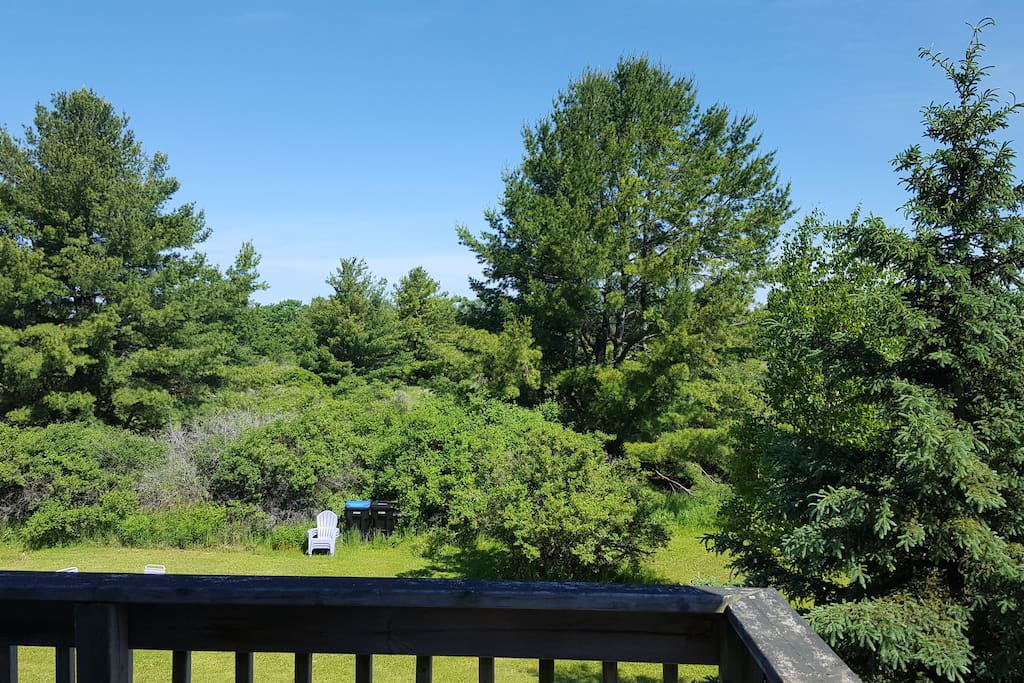 View from deck off 2nd level bedroom