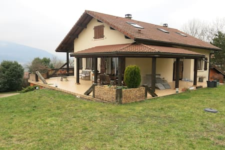 Grande maison proche Genève - Confort - Maison