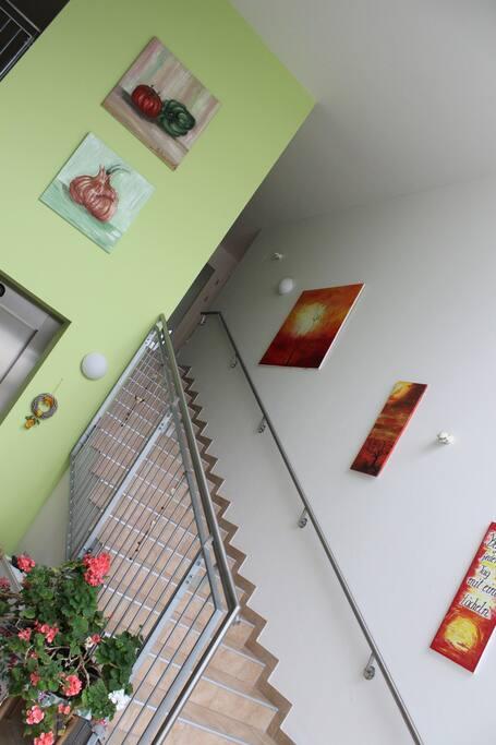 Eingangsbereich - hell, freundlich, großzügig
