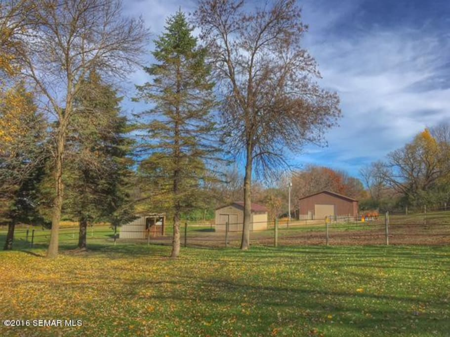 Set on several acres of land, the views and the wildlife will add tranquility to your day.