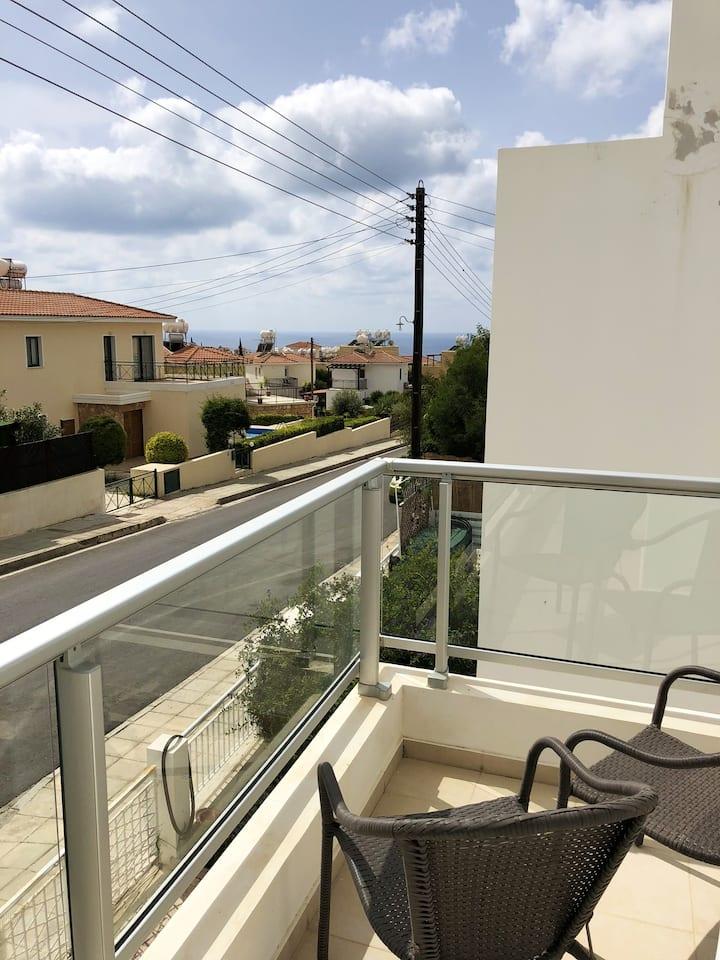 Tolles Haus mit Meerblick & Balkon