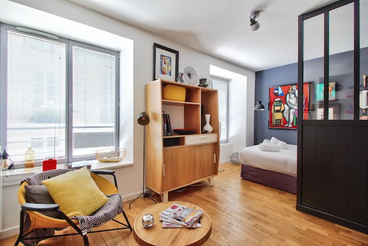 Charming Independent Studio - Marais