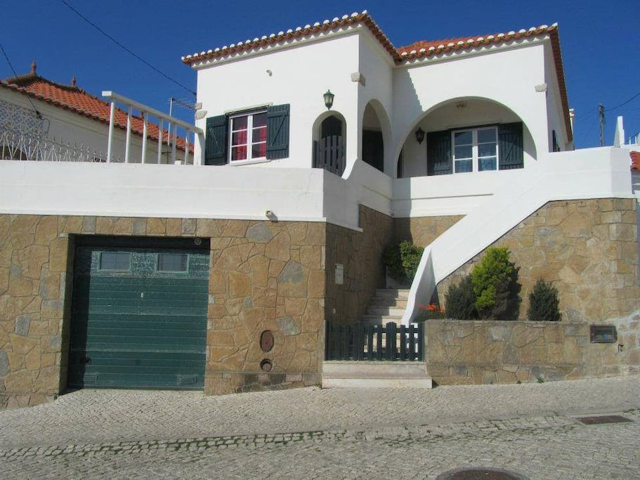 Front of the Hostel