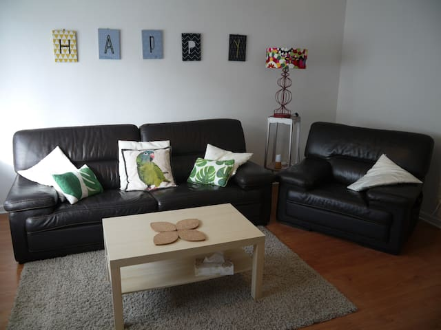 IDEAL FOR YOU : large and bright appartment