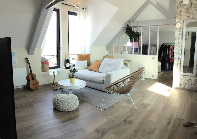 Paisible Loft hyper centre de Guidel