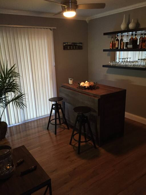 Bar/Dining Room area