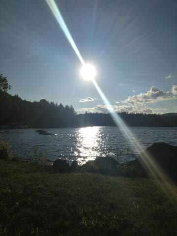 Spruce Cottage on Tupper Lake