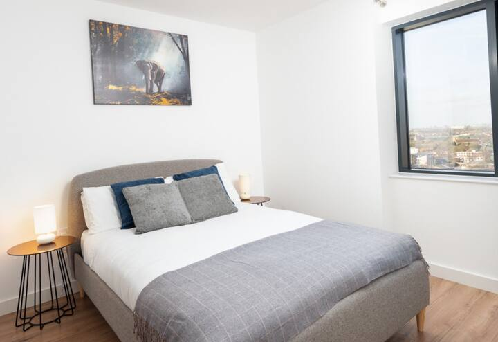 Lovely 1 bedroom flat near Birmingham City Centre