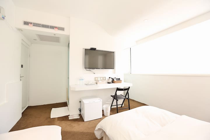 【Time Flyer Hotel】Standard Twin Room