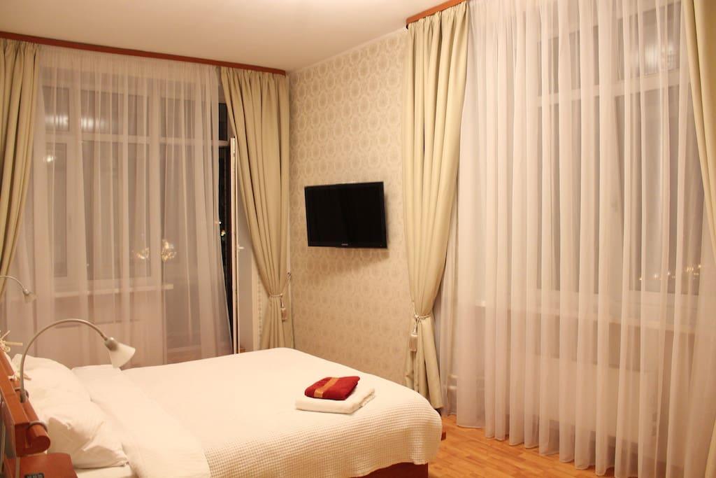 Первая двухместна спальня