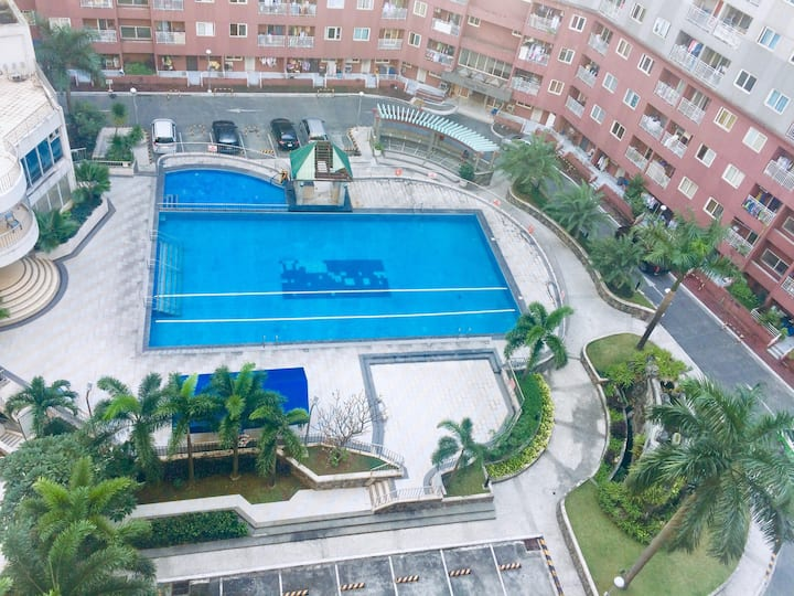 Serene and lovely 2 bedroom condo in Quezon City