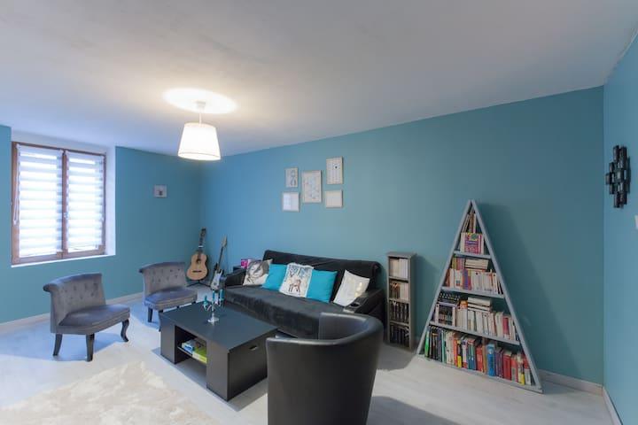 Neljä vuodenaikaa huoneen, viehättävä talo - Saint-Nicolas-de-Port