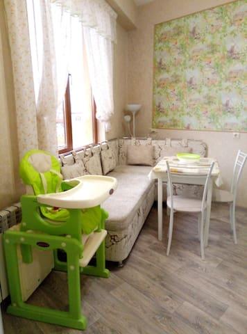 Квартира для семейного отдыха у моря