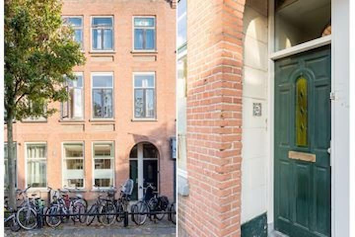 Leuk appartement in Utrecht (Lombok), met tuintje