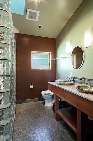 Guest Bathroom (Dual sinks & dual shower heads - one is rain shower)