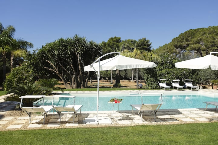 Heritage Villa in Marsala Sicily with Swimming Pool