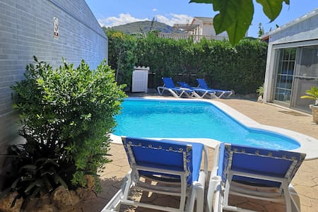 Villa Tucan chalet unifamiliar con piscina, BBQ
