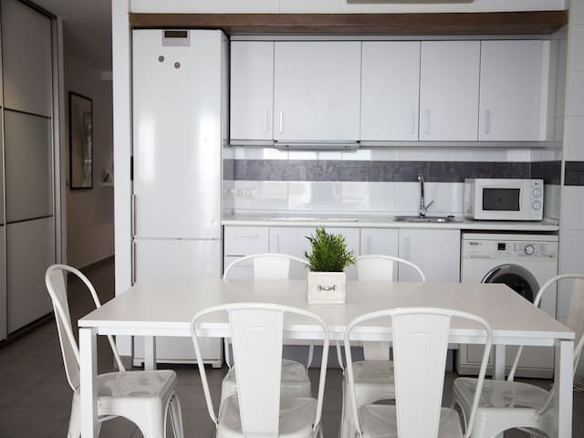 Flats Friends Tetuan 1 bedroom with terrace for 4