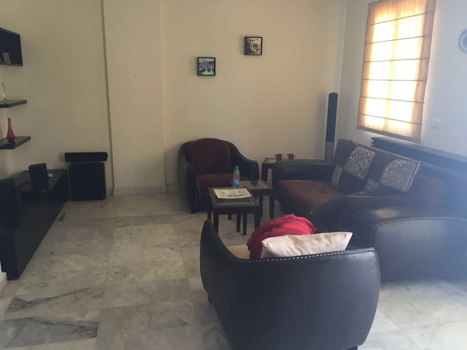Newly furnished sitting room