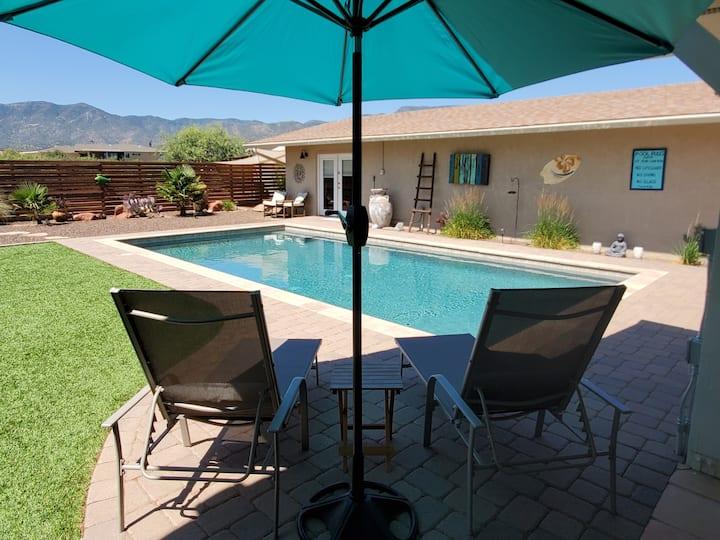 Casa Buena Vista Private 2.5+ Acres,  POOL, CLEAN!