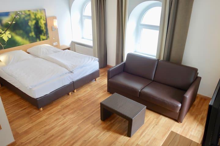 Schönes Mehrbettzimmer in familiengeführtem Hotel